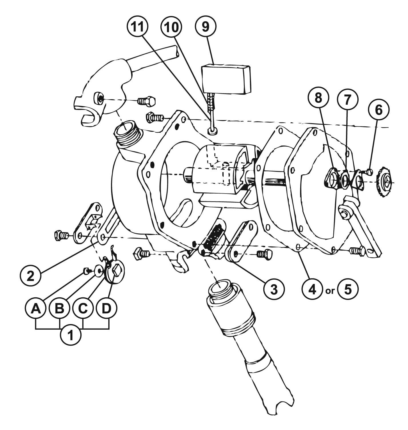Uzinb Per la Sostituzione del Gatto motoslitta motoslitta combustibile pistone della Pompa Primer Kit Auto Parts
