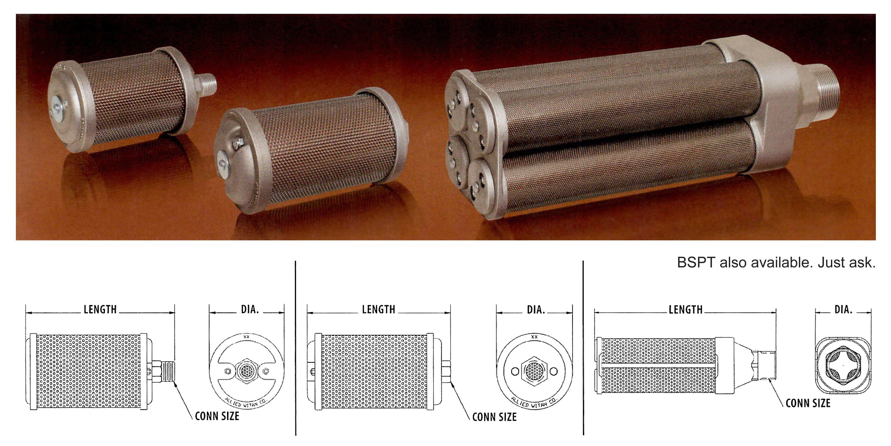 Air Dryer Mufflers Atomuffler