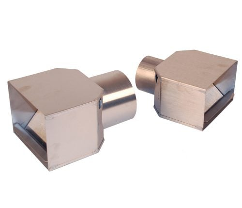 SVI Alligator Jaw Tailpipe Adapters for Shop Exhaust Removal