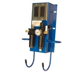 BH-7070-BS Blue Power Station Air Electric Utility Box for Auto Lifts