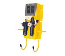 BH-7070-SY Yellow Power Station Air Electric Utility Box for Auto Lifts