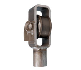 BH-7150-61 ref 93-222A Yoke Bracket and Roller Assembly for ALM Lifts