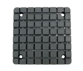 BH-7256-20P ref Square Grid Rubber Arm Pad for BendPak & Globe GV Series Lifts