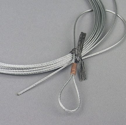 BH-7501-24 ref FJ7595-1 29' Lock Latch Release Cable for Rotary Lifts 2-Post