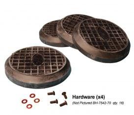 BH-7542-66PK ref FJ5174 Rubber Pad Kit for Rotary Lift