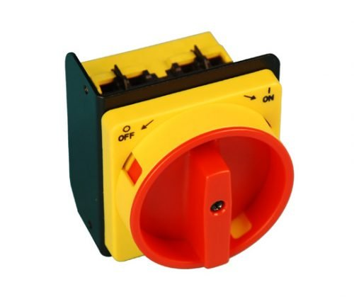 BH-9786-67 ref T100155 Red and Yellow Disconnect Switch for Rotary Lift InBay