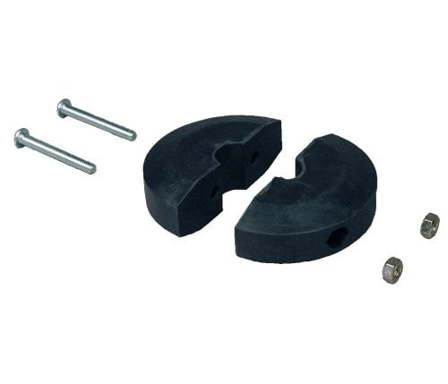 """BP-1525L ref 85516 Wide Style Hose Stop for 3/8"""" ID Hose Large OD Lincoln Style"""