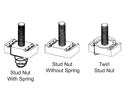 Channel Stud Nuts for use with BL-5400-09 Series Channel