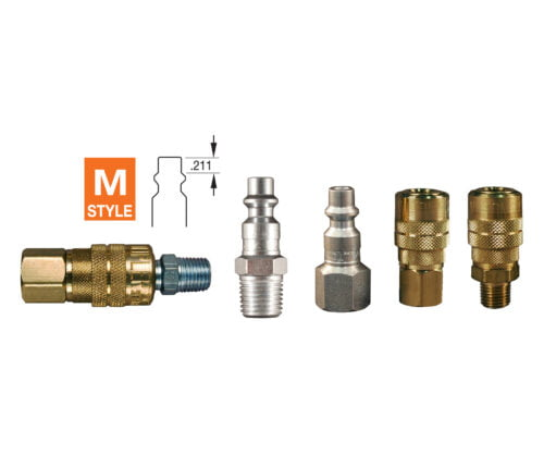 Milton M-Style Couplers and Plugs