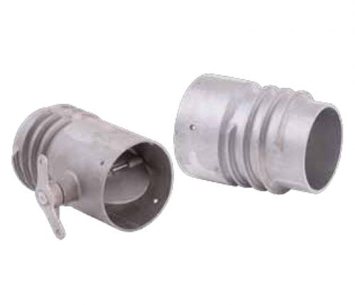 SVI Overhead Duct Connectors for Shop Exhaust Removal