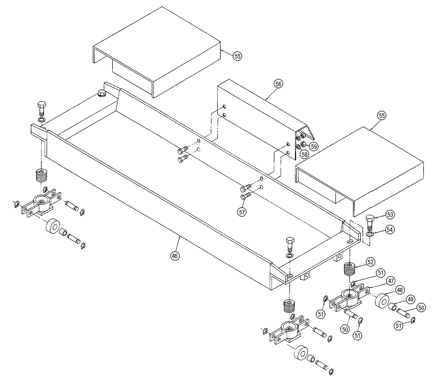 Parts for Ben Pearson LMA 12 Optional Jacking Channel Kit | SVI  International, Inc.  SVI International