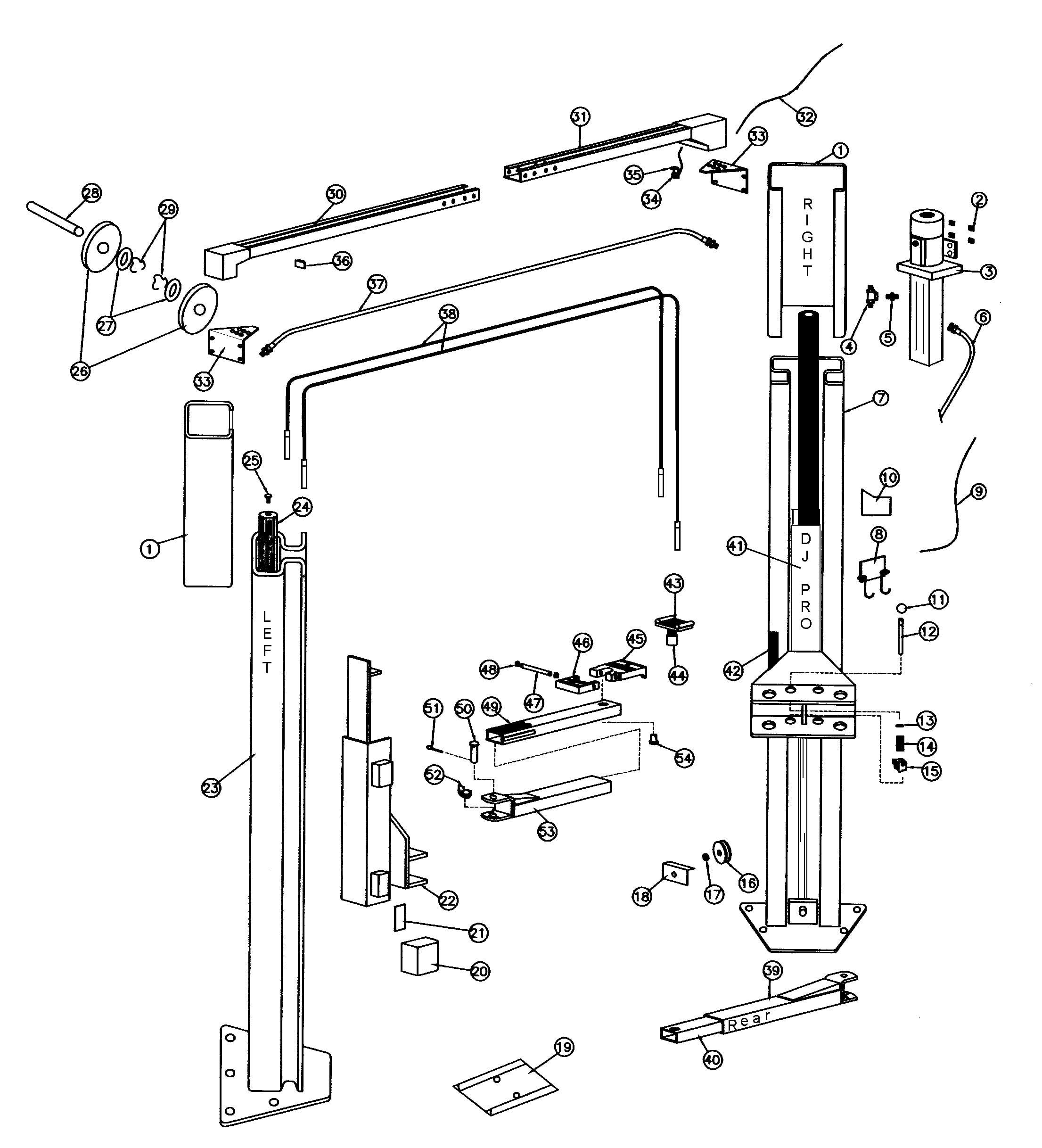Parts for Rotary A10i EH-1 | SVI International, Inc. on lift pump diagram, lift accessories, lift motor diagram, lift parts diagram, lift switch diagram,