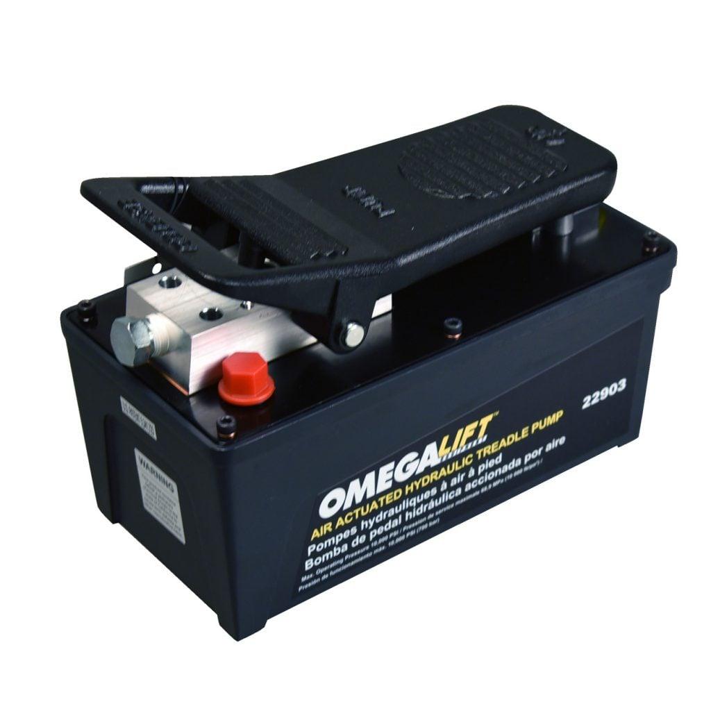 SF-22903 10,000 PSI Air/Hydraulic Pump 1.5 Quart for Rolling Bridge Jacks