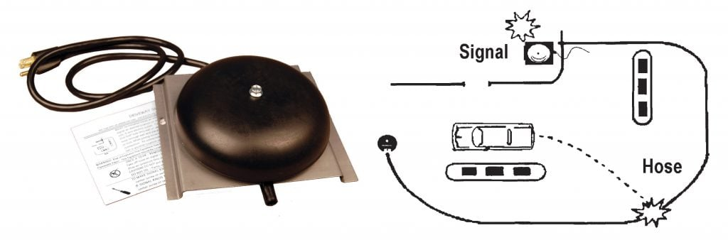 SVI Gas Service Station Signal Bell