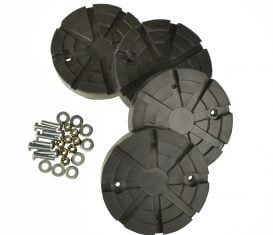 BH-7450-02-4 Rubber Arm Pad Kit for Nussbaum