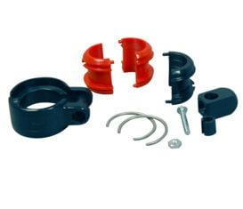 """BP-1394-98 Clam Shell Retractor Clamp for 30,1mm or 1-3/16"""" OD EV Charger Cable Cord or Curb Pump Hose"""