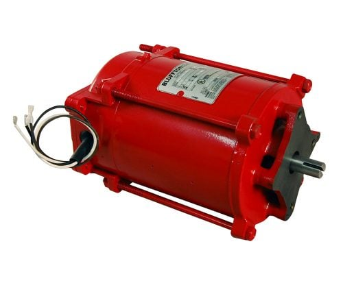 BP-4218-20R ref F37332 1/3 HP Motor 60 hz for Gasboy 48 Red