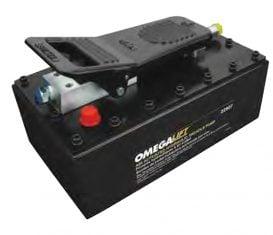SF-22907 4 Quart 10,000 Omega Turbo Air Hydraulic Pump