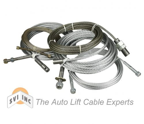 SVI International are the Auto Lift Cable Experts