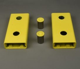 """BH-7231-46N ref RJ45 Rolling Jack Extensions 10"""" for Challenger Lifts"""