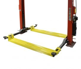 BH-7357-01 AWS Adjustable Turf Trays for Symmetric 2-Post Auto Lift
