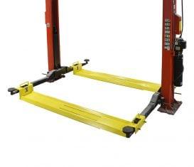 BH-7357-01 AWS Adjustable Turf Trays for Symmetric 2-Post Auto Lift