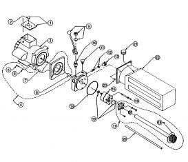 Parts Breakdown for John Bean 44110Q Quatro Power Pack Wheeltronic