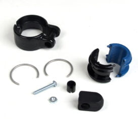 """BP-1394/95 Plastic Curb Pump Hose Clamp for 1-1/16"""" OD x 3/4"""" ID Hose, Clam Shell Accessories"""
