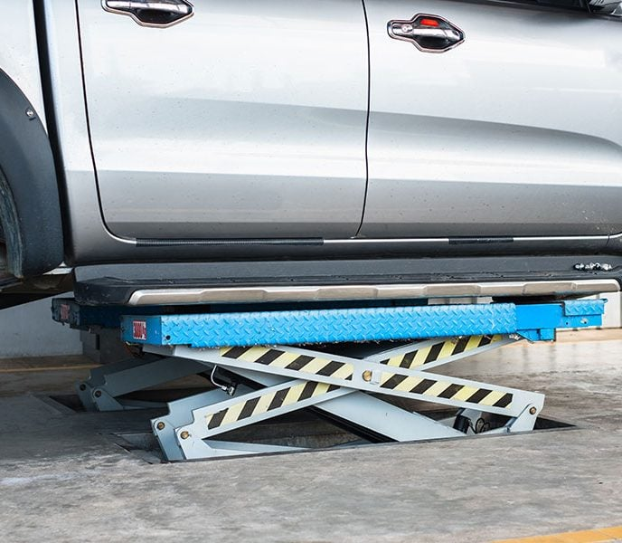 Is an Automotive Scissor Lift Right for Your Operation