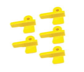 BW-8400-10-5 ref EAC0060G76A Yellow Plastic Inserts 5 Pack for Snap On Hofmann John Bean