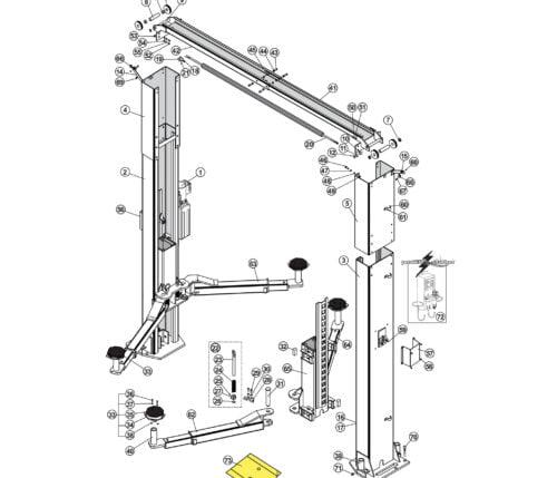 Parts for Tuxedo Lift TP11KAC